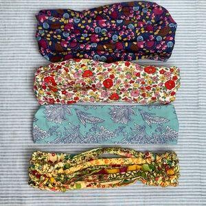 4 Girls Headbands: Mini Boden, Matilda Jane, +